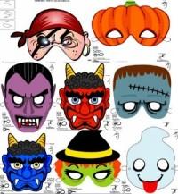 Страшная маска на хэллоуин сделать своими руками
